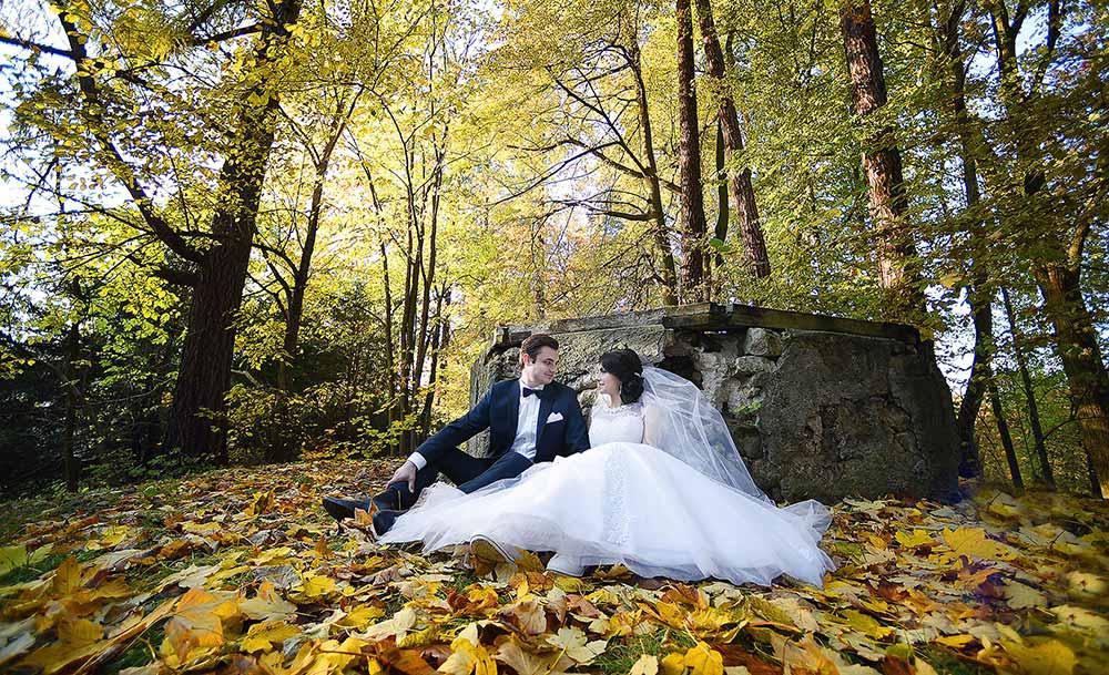Plener ślubny z kamerzystą z Krakowa